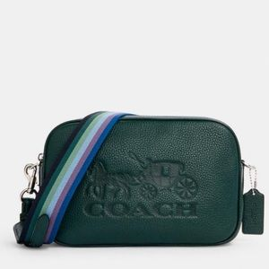 Coach Jes Crossbody With Horse And Carriage Bag
